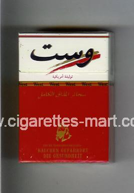West (collection design 12A) (T) ( hard box cigarettes )