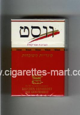 West (collection design 12C) (T) ( hard box cigarettes )