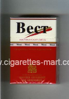 West (collection design 12D) (T) ( hard box cigarettes )