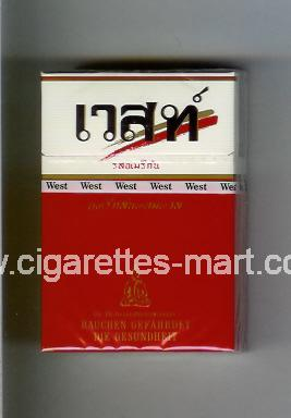 West (collection design 12E) (T) ( hard box cigarettes )