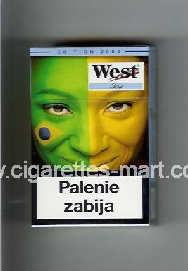 West (collection design 13B) (Edition 2006 / Ice) ( hard box cigarettes )