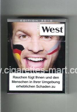 West (collection design 13D) (Edition 2010 / Silver) ( hard box cigarettes )