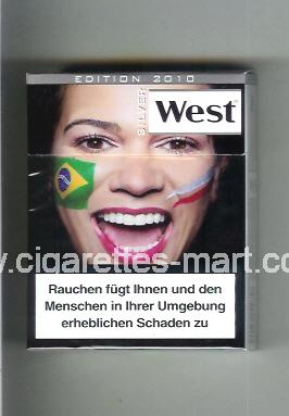 West (collection design 13E) (Edition 2010 / Silver) ( hard box cigarettes )