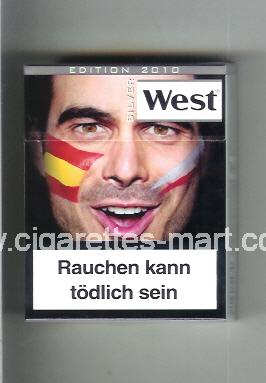 West (collection design 13F) (Edition 2010 / Silver) ( hard box cigarettes )