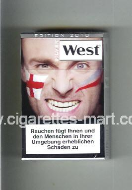 West (collection design 13G) (Edition 2010 / Silver) ( hard box cigarettes )