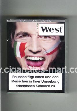 West (collection design 13I) (Edition 2010 / Silver) ( hard box cigarettes )