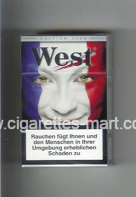 West (collection design 15A) (Edition 2006) ( hard box cigarettes )