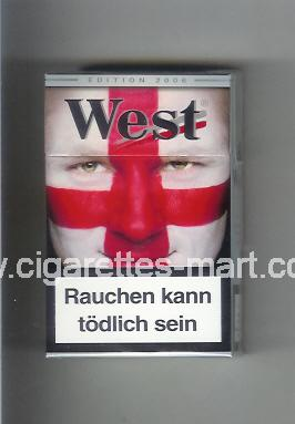 West (collection design 15B) (Edition 2006) ( hard box cigarettes )