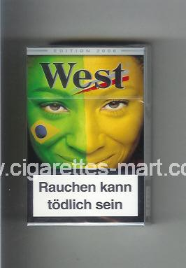 West (collection design 15C) (Edition 2006) ( hard box cigarettes )