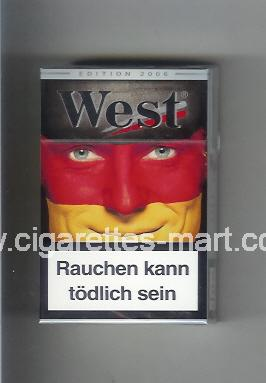 West (collection design 15D) (Edition 2006) ( hard box cigarettes )
