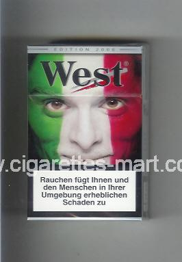 West (collection design 15E) (Edition 2006) ( hard box cigarettes )