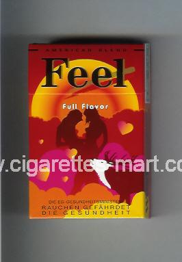 West (collection design 16A-1) Feel (Full Flavor) ( hard box cigarettes )