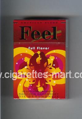 West (collection design 16A-2) Feel (Full Flavor) ( hard box cigarettes )