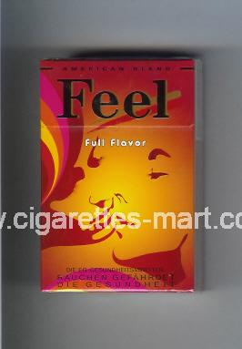 West (collection design 16A-3) Feel (Full Flavor) ( hard box cigarettes )