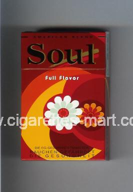 West (collection design 16C-2) Soul (Full Flavor) ( hard box cigarettes )