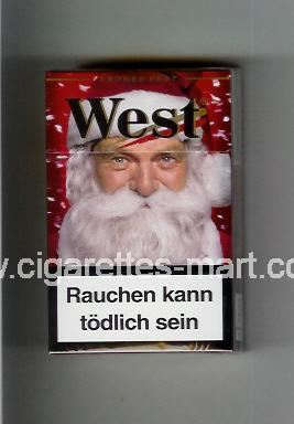 West (collection design 17A) ( hard box cigarettes )