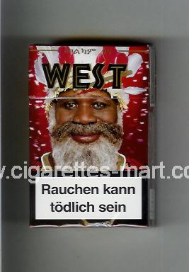 West (collection design 17B) ( hard box cigarettes )