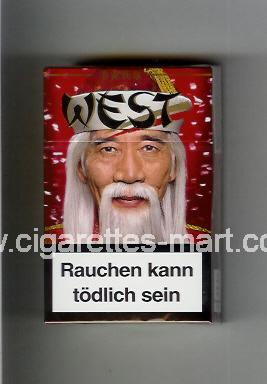 West (collection design 17D) ( hard box cigarettes )