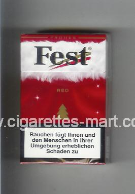 West (collection design 21C) Fest (Frones / Red) ( hard box cigarettes )