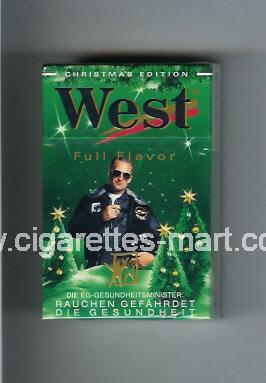 West (collection design 4A) (Christman Edition / Full Flavor) ( hard box cigarettes )