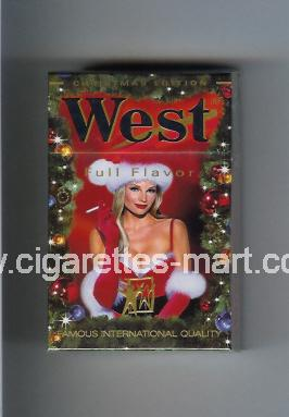 West (collection design 4B-1) (Christman Edition / Full Flavor) ( hard box cigarettes )