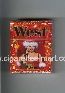 West (collection design 4B-2) (Christman Edition / Full Flavor) ( hard box cigarettes )