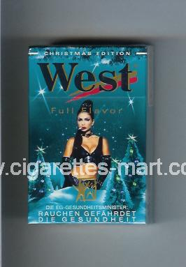 West (collection design 4C) (Christman Edition / Full Flavor) ( hard box cigarettes )