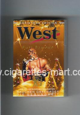 West (collection design 4D) (Christman Edition / Full Flavor) ( hard box cigarettes )