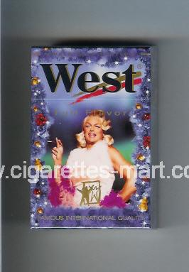 West (collection design 4G) (Christman Edition / Full Flavor) ( hard box cigarettes )
