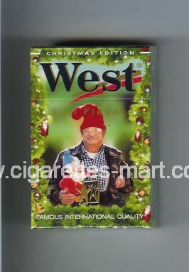West (collection design 4I) (Christman Edition / Full Flavor) ( hard box cigarettes )