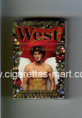 West (collection design 4J) (Christman Edition / Full Flavor) ( hard box cigarettes )