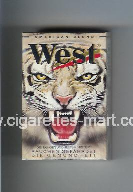 West (collection design 5A) (American Blend) ( hard box cigarettes )