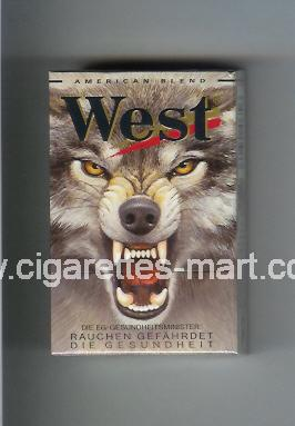 West (collection design 5B) (American Blend) ( hard box cigarettes )