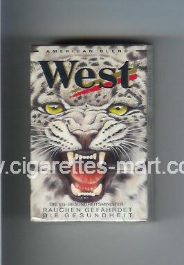 West (collection design 5C) (American Blend) ( hard box cigarettes )