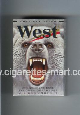West (collection design 5D) (American Blend) ( hard box cigarettes )