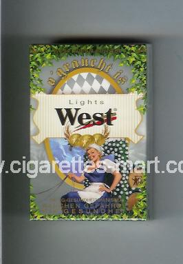 West (collection design 6B) (West Wiesn - Edition / Lights) ( hard box cigarettes )