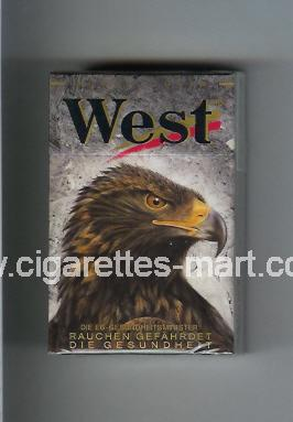 West (collection design 8A) (Power Lights) ( hard box cigarettes )