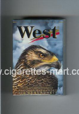West (collection design 8B) (Power Lights) ( hard box cigarettes )