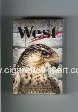 West (collection design 8C) (Power Lights) ( hard box cigarettes )