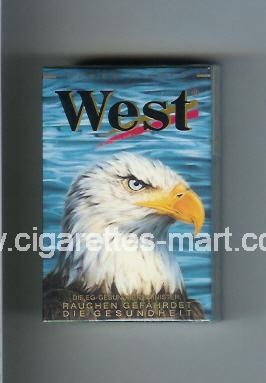 West (collection design 8D) (Power Lights) ( hard box cigarettes )