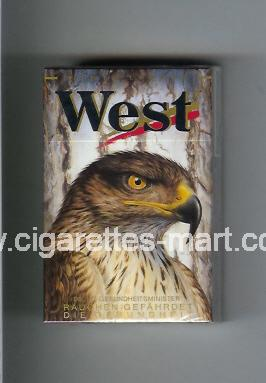 West (collection design 8E) (Power Lights) ( hard box cigarettes )