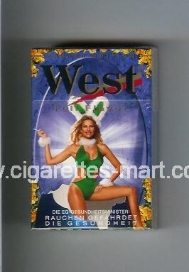 West (collection design 9C) (Easter Edition / Full Flavor) ( hard box cigarettes )
