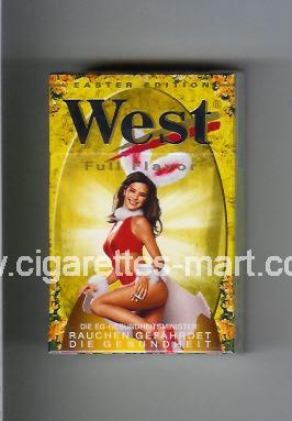 West (collection design 9D) (Easter Edition / Full Flavor) ( hard box cigarettes )