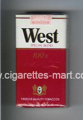 West (design 1) (Special Blend) ( soft box cigarettes )