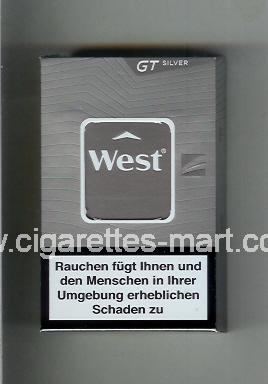 West (design 18) (GT / Silver) ( hard box cigarettes )