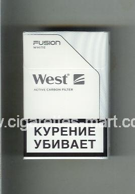 West (design 20) (Fusion / White / Active Carbon Filter) ( hard box cigarettes )