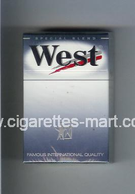 West (design 6) (Special Blend) ( hard box cigarettes )