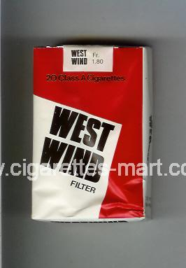 West Wind (Filter) ( soft box cigarettes )
