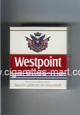 Westpoint (german version) (design 1) (Rich Taste) ( hard box cigarettes )