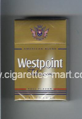 Westpoint (german version) (design 1) (Tobaccos / Full Flavor / American Blend) ( hard box cigarettes )